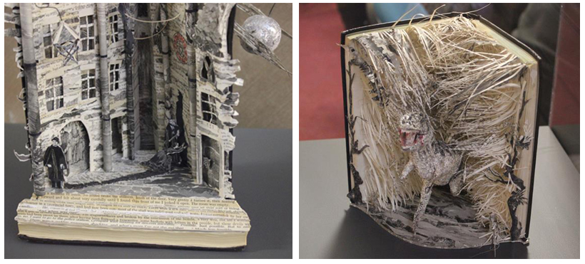 desgraciar un libro