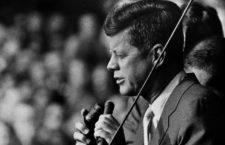 John F Kennedy en 1960. (DP)