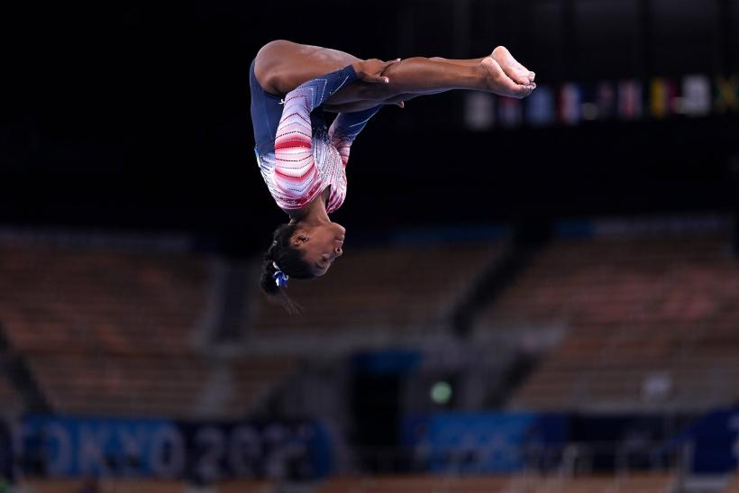 Simone Biles en los Juegos Olímpicos de Tokio Foto Cordon Press