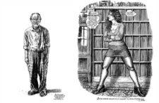 Robert Crumb y Aline Kominsky. Imagen: La Cúpula.