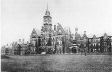Hospital Estatal de Lunáticos de Danvers en 1893. (DP)