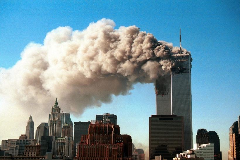 Las torres del World Trade Center en el ataque terrorista del 11-S. Foto Cordon Press