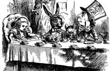 Ilustracón de sir John Tenniel para la primera edición de Alicia en el País de las Maravillas, de Lewis Carroll. (DP)