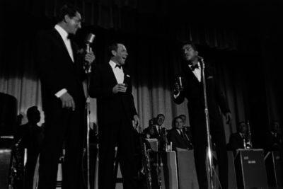 Dean Martin, Frank Sinatra y Sammy Davis Jr. Foto: Cordon Press.